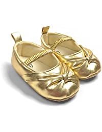 Amazon.com: Gold - Shoes / Baby Girls: Clothing, Shoes & Jewelry