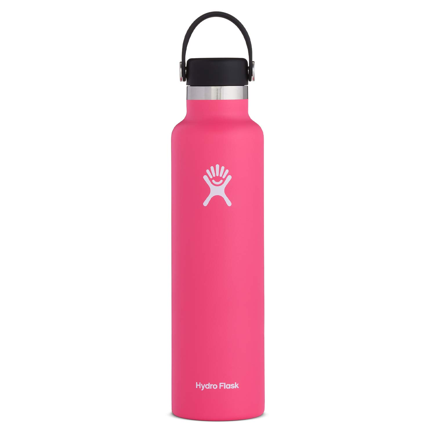 Hydro Flask Water Bottle   Stainless Steel & Vacuum Insulated   Standard Mouth with Leak Proof Flex Cap  Multiple Sizes & Colors