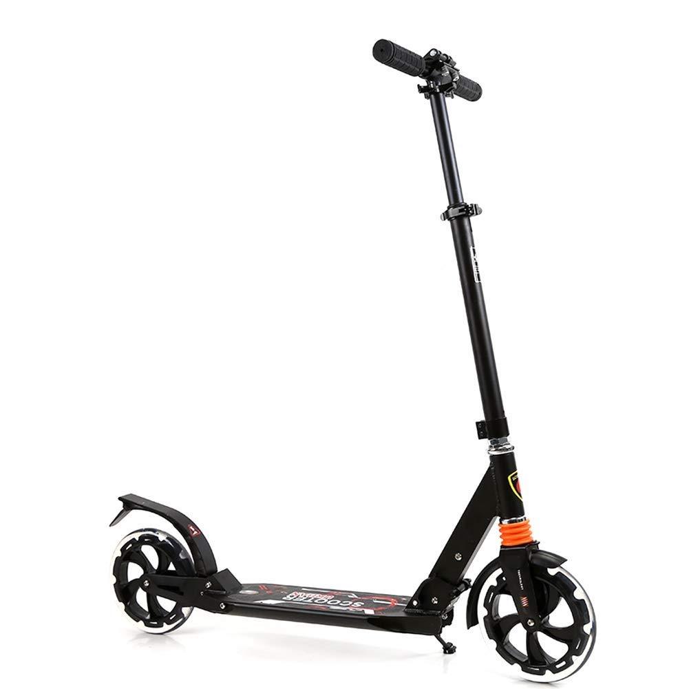 いいスタイル スクーターを蹴る子供たち ブラック) スクーター、ショックアブソーバースクーター、折りたたみスクーター (色 : : (色 ブラック) B07R5WWFHM ブラック, HEALTY:d233deda --- 4x4.lt