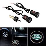 CHAMPLED For Land Rover Car Auto Laser Projector Logo Illuminated Emblem Under Door Step courtesy Light Lighting symbol sign badge LED Glow Performance