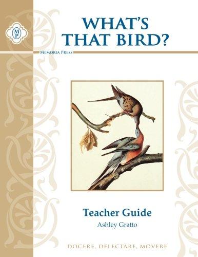 What's That Bird? Teacher Guide pdf