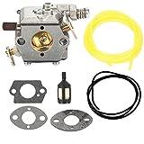 Harbot Carburator Fuel Line Repair Gasket Kit For Tecumseh 640347 640347A TM049XA TC200 TC300 Strikemaster Jiffy Ice Auger 50667 2-Cycle Engine
