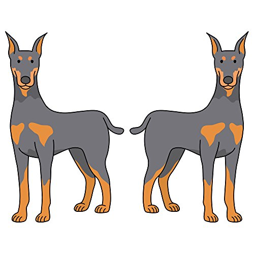 """Doberman Pinscher Decal 
