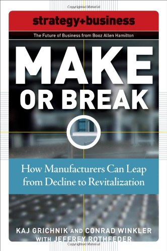 Download Make or Break: How Manufacturers Can Leap from Decline to Revitalization (Future of Business Series) pdf epub