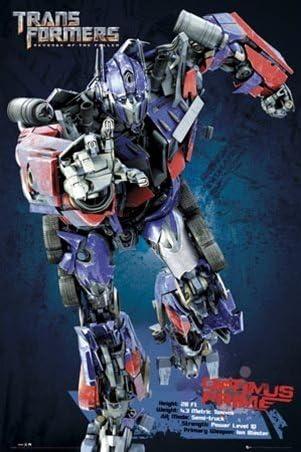 Transformers Optimus Prime la venganza de los Fallen Póster ...