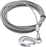 SeaSense Trailer Winch Cable, 1/8-Inch x 20-Feet