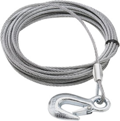SeaSense Trailer Winch Cable, 1/8-Inch x (Seasense Boat Hook)