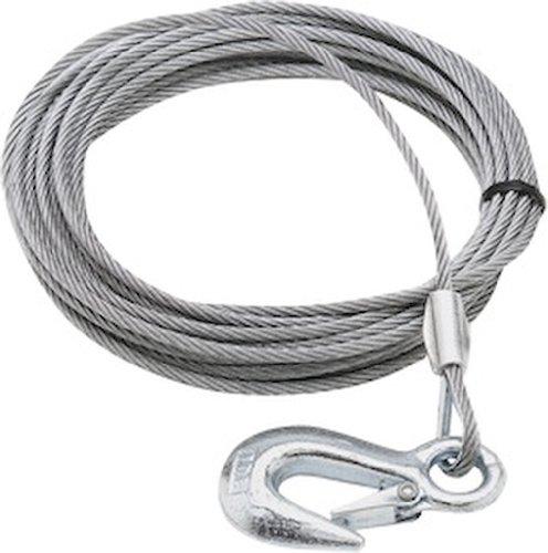 SeaSense Trailer Winch Cable, 1/8-Inch x 20-Feet