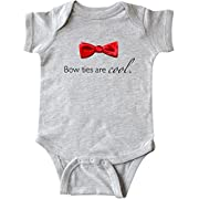 Inktastic - Bow ties are cool. Infant Creeper 6 Months Heather Grey