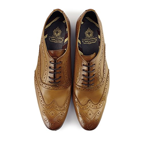 Base London Commerce, Chaussures Ville Brogue Homme