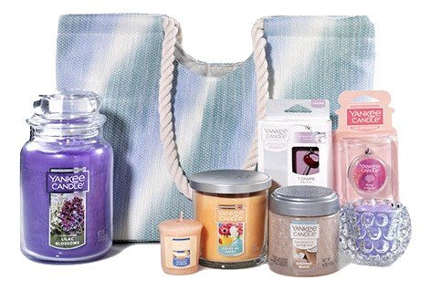 Yankee Candle 9-Piece Fragrance Filled Tote