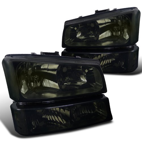 04 silverado headlights smoked - 2