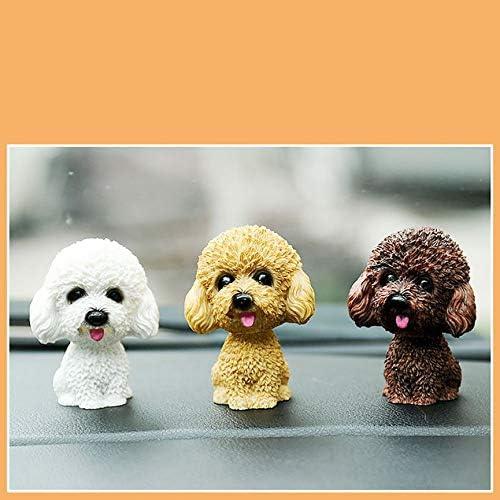 Peanutaoc Head Dog Auto Armaturenbrett Puppe Auto Sch/üttelkopf Ornamente Wackelhund Auto Inneneinrichtung Dekoration Geschenk