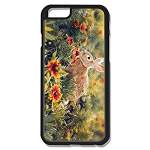 Funny Flower Rabbit Hard Case Cover For IPhone 6