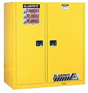 JUSTRITE MANUFACTURING 899270 Yellow 18 Gauge CR Steel ...
