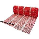 Comfort Zone Underfloor Heating Mat Kit 4m2 Inc Stat by QVS