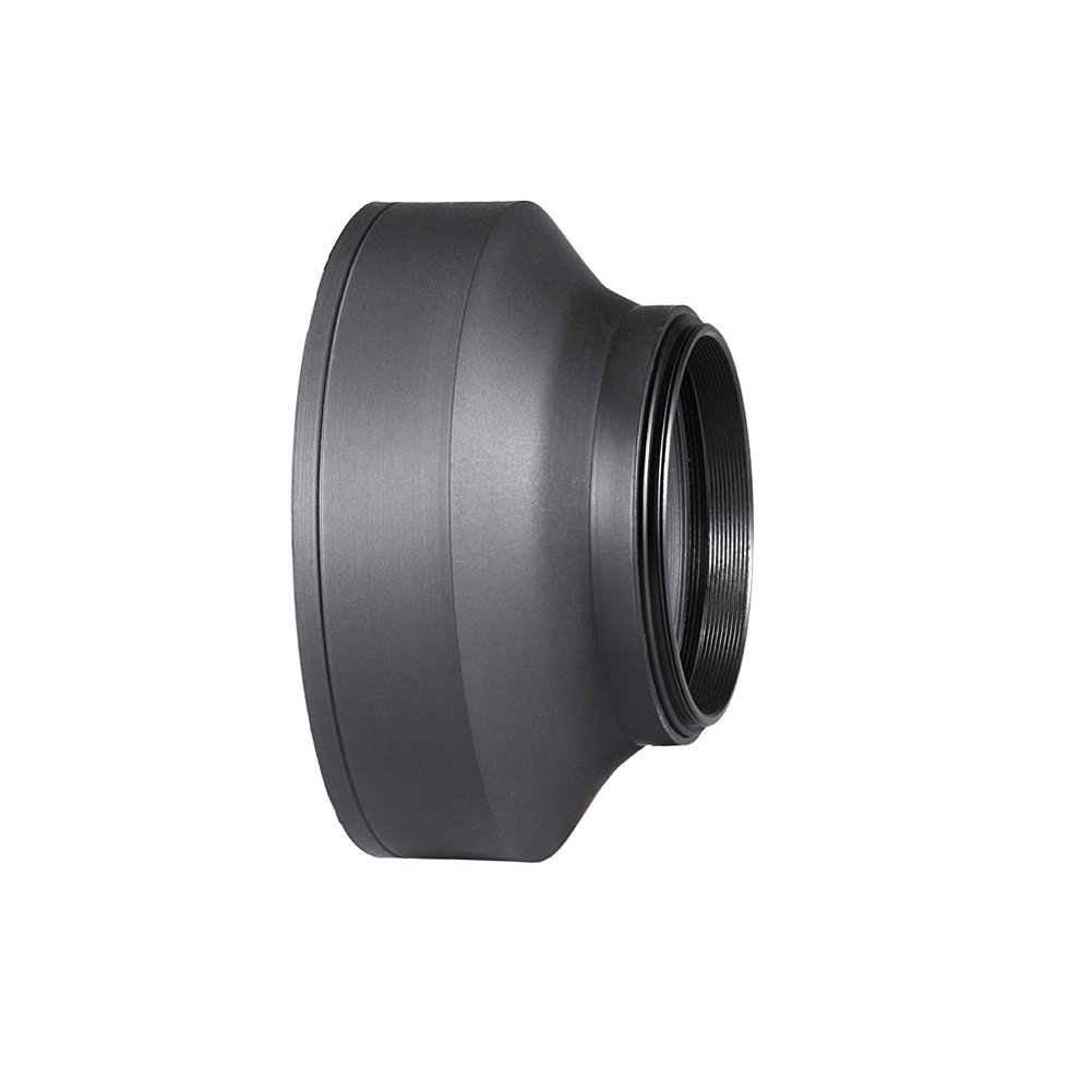 Neewer 58MM Collapsible Rubber Lens Hood for for CANON Rebel T5i T4i T3i T3 T2i T1i XT XTi XSi SL1, CANON EOS 700D 650D 600D 550D 500D 450D 400D 350D 300D 1100D 100D 60D + Microfiber Lens Cleaning Cloth 90083753@@##2