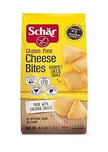 Schar Gluten Free Cheese Bites, 4.4 Ounces (Pack of 3)
