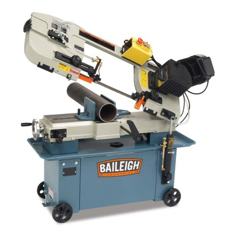 Baileigh BS-712M Metal Cutting Band Saw, 110V, 1hp Motor by Baileigh