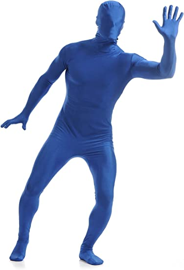 Amiliashp Mens Halloween Costume Zentai Suit Full Body Spandex Lycra Unitard Suit Second Skin Bodysuit Super Suit Costume
