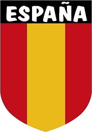 Artimagen Pegatina Escudo Vertical España sin Emblema 40x60 mm ...