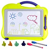 Philonext Magnetic Drawing Boards with 4 Colors Drawing Screens, 2 Colors Pens, Erasable Doodle Sketch Magna Board for Writing, drawing, Sketching, Kids Educational Learning,Toy Gift for Boys Girls