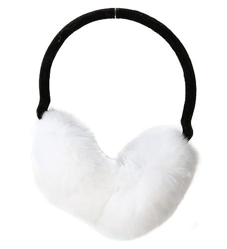Vogueearth Donna'Real Volpe Pelliccia/Pelliccia Sintetica Faux Fur Due Materiali Scelgono Inverno Wa...