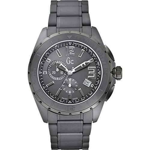 Guess Collection X76016G5S Sport Class XXL Matte Grey Ceramic Chronograph Men's Watch