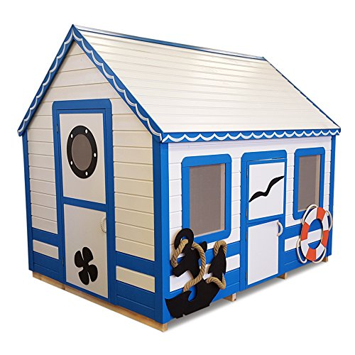 (Whole Wood Cabins Playhouse Marine Max (6x8 ft) Premium)