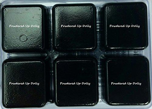 PACK of 6 MATTE BLACK IRON OXIDE Soap Dye Tint D.I.Y Color Block Color Melt & Pour Soap Mp Dye Block Melted Bath Soap Bar -