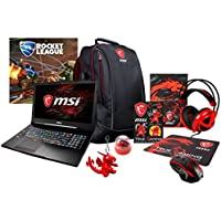 MSI GE63 Raider-008 (i7-7700HQ, 16GB RAM, 1TB SATA SSD + 1TB HDD, NVIDIA GTX 1050 4GB, 15.6 Full HD 120Hz 3ms, Windows 10) Gaming Notebook