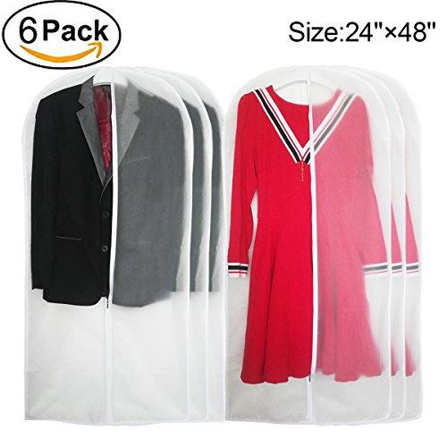 garment bags white - 2