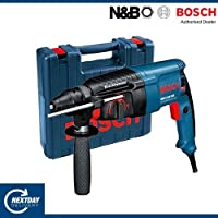 Bosch GBH 2-26 DRE Professional 800W 900RPM SDS Plus rotary hammer - rotary hammers (Black, Blue, 2.8 kg, 83 mm, 377 mm, 210 mm)