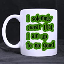 Custom Funny I solemnly swear that I am up to no good Coffee Mug, Custom Harry Potter Coffee Mugs