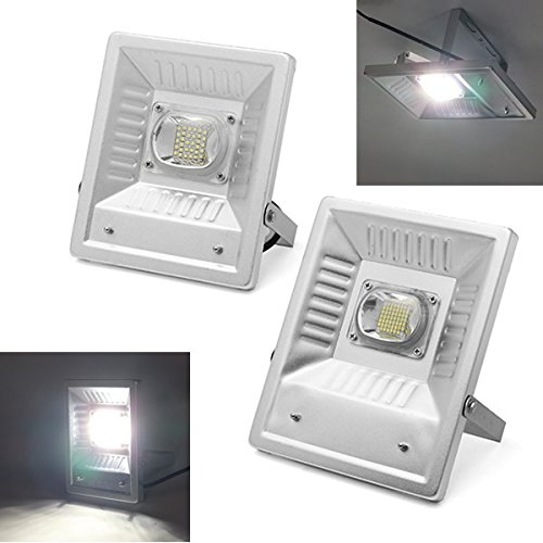 DADEQISH 30W   50W IP65 Waterproof LED Flood light Lampada di sicurezza esterna ultraluminosa per Piazza Street AC220V Illuminazione esterna (Colore   30W)