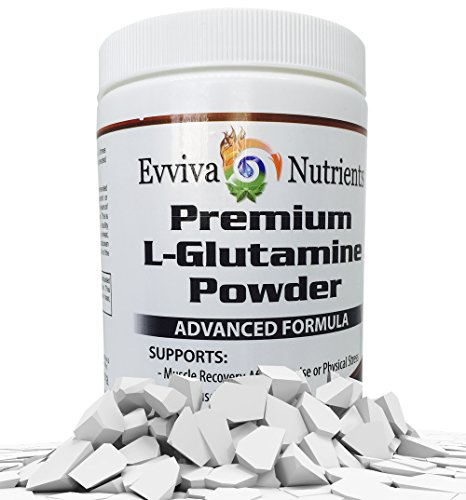 L-Glutamine Poudre - 500 grammes - massif 250 portions de pointe ! -#1 meilleur Sports Nutrition supplément - Support Nutrition optimale - prend en charge plus rapide récupération musculaire, croissance de masse musculaire maigre, système immunitaire, ner