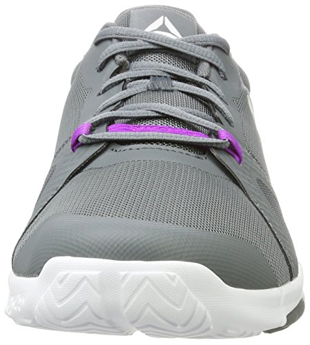 Grey Vicious Skull Reebok Trainflex mujer White Shoes para Grey Alloy Lite Violet Fitness wxOYIBq