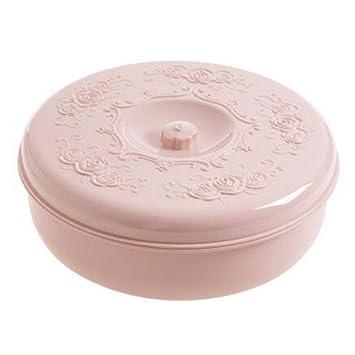 Caja de plástico de la galleta caja de fruta de la caja de almacenamiento del caramelo del caramelo para el hogar -A5: Amazon.es: Hogar