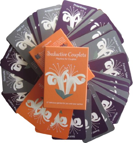 Seductive Couplets Game Deck: Playtime for Couples