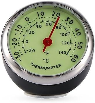 Winbang Auto Thermometer Luminous Automobil Mechaniker Thermometer Auto Innendekoration Auto
