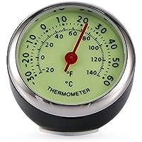 Termómetro para Coche, Luminoso, mecánico, termómetro, decoración Interior