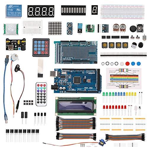 XKSIKjian's Hardware Tool, Electronic Components Starter Learning for Arduino MEGA 2560 Servo Motor Home Improvement Tools Kit