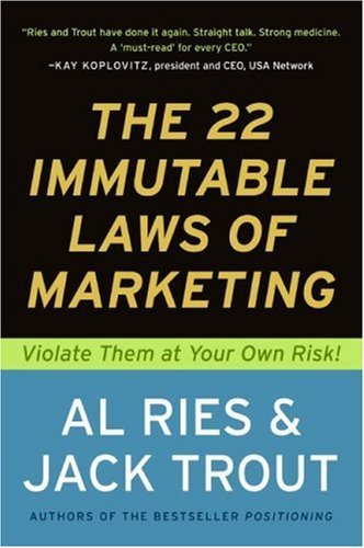 Amazon the 22 immutable laws of marketing exposed and the 22 immutable laws of marketing exposed and explained by the worlds two by audible sample fandeluxe Choice Image