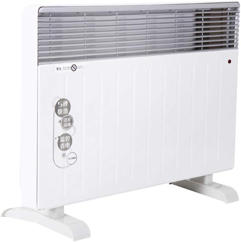 NAUY@ Calefacción eléctrica, de pie + Calentador de suspensión, Horno de Calentamiento rápido, calefacción de Alambre de calefacción - Uso de baño/Dormitorio, bajo Consumo de energía Riscaldatori di