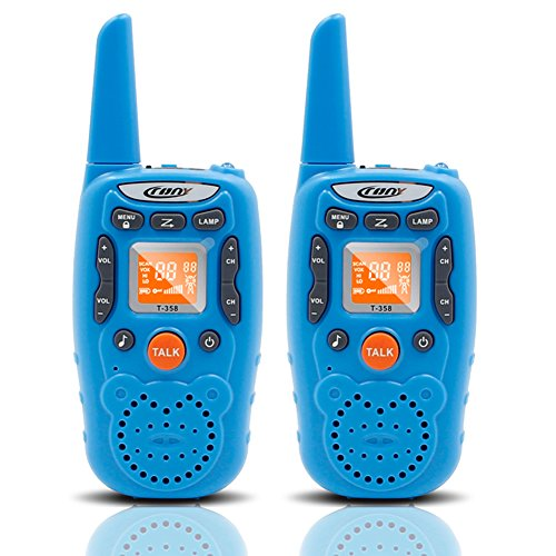 crony t 358 walkie talkie for kids 22 channel small two. Black Bedroom Furniture Sets. Home Design Ideas