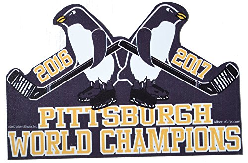 Pittsburgh World Champions 2016-2017 Penguins - Pittsburgh Magnets Penguins