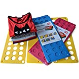 Wolisen Folding Board Magic Fast Folder Children Clothes T-shirts Folding Board (Random Color)