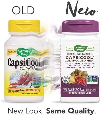 Nature s Way CapsiCool, 100 Capsules Pack of 2