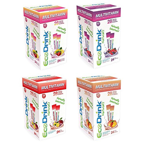 - Eco-Drink Bulk Variety Pack| 4 Flavors | 96 Packets