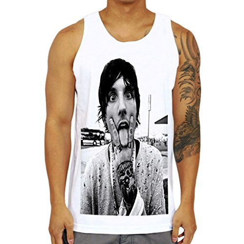Mazumi8 Oliver Sykes Bring Me the Horizon Cute Tank Top Size XL - Sykes Oliver T-shirt